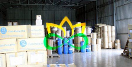Kho hàng hóa công ty Đạt Minh